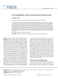 Review article published in Neurosurgical Focus