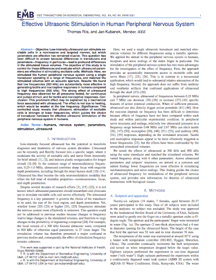 Article published in IEEE Transactions on Biomedical Engineering